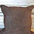 Brown hue pillow Allen Roth one of a kind